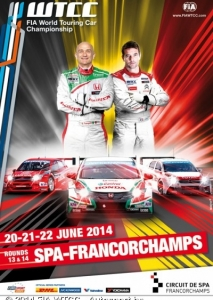 WTCC CIRCUIT DE SPA FRANCORCHAMPS